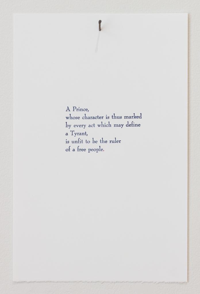 Declaration Poem #1