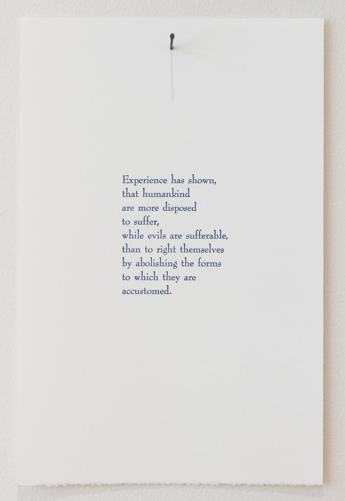 Declaration Poem #2